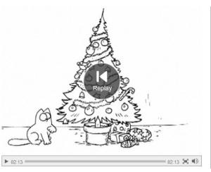 Simon's Cat Santa Claws